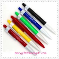 Wholesale Hot selling Gift Logo customized promotional plastic ball point pen from china suppliers
