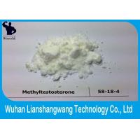 Wholesale Cutting Cycle Steroids Testosterone Raw Powder Methyltestosterone Metandren CAS 58-18-4 from china suppliers