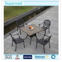 Wholesale Outdoor Home Cast Aluminum Patio Furniture Modern Dining Table And Chairs from china suppliers