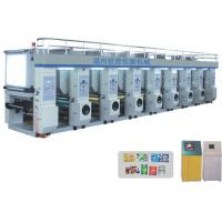 Wholesale shopping bag Rotogravure Printing Machine for BOPP / PET / PE film label printing from china suppliers