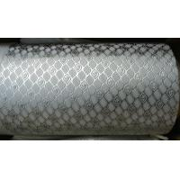Buy cheap Alloy Steel Embossing Roller For Paper , Tissue , Foil And Leather With Different Pattern from wholesalers