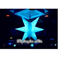 Wholesale Inflatable Decor Hanging Star with LED Light for Meeting and Concert Decoration from china suppliers