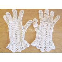 Wholesale Vintage Style Crochet Accessories / Cotton Crochet Bridal Gloves For Wedding from china suppliers