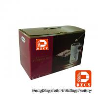 Quality Beautiful Corrugated Small Rectangular Cardboard Boxes Eco For Food Package for sale