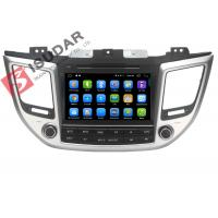 China Multi Touch Capacitive 8 Inch Android Car Stereo , 2015 Hyundai Tucson Dvd Player on sale