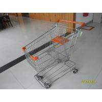 Wholesale Colorful Powder Coating 100L Wire Shopping Trolley Grocery Shopping Cart from china suppliers