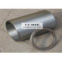 Wholesale Steel XCMG Spare Parts , Engine Cylinder Sleeves with Adjusting Ring from china suppliers