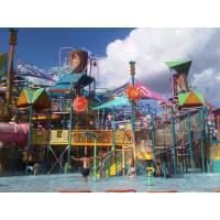 Wholesale Aqua Park Water Playground Equipment With Fiberglass Spiral Water Slide from china suppliers