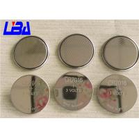 Buy cheap 20 * 1.6MM 90mAh  LiMnO2  3V Coin Battery For Small Electronic Gifts from wholesalers