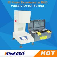 Wholesale AC220V±10% 50HZ MFR Melt Flow Index Machine , Electronic Melt Flow Index Tester with One Year Warranty from china suppliers
