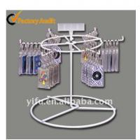 Wholesale White 6 peg Counter Display Rack from china suppliers