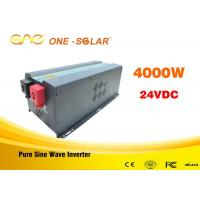 Wholesale Pure Sine Wave 24v To 110v Inverter 4000 Watts With UPS Charger from china suppliers