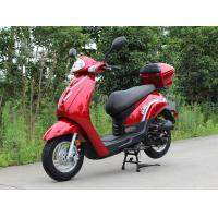 Buy cheap belt transmission max speed 60km/h with 50cc Single Cylinder, 4 Stroke, Air-Cooled, horizontal type scooter from wholesalers
