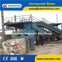 Wholesale Y82-125 China horizontal Waste Paper Balers manual belting with feeding conveyor manufacturer from china suppliers
