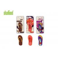 Wholesale Christmas Slipper Deco Hanging Car Air Fresheners / Good Air Freshener For Room from china suppliers