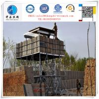 Buy cheap Durable Galvanized gabion barrier for fortification from wholesalers