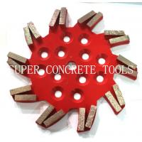 Wholesale 250mm 20 Seg Diamond Floor Grinding Plate from china suppliers