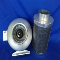 "Buy cheap 10"" Hydroponics Inline Exhaust Fan Carbon air filter from wholesalers"