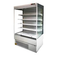 China Slim Portable Vegetable Open Display Fridge For Retail Store Small Size on sale
