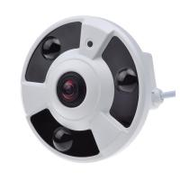 Wholesale 3.0MP Starlight Fish Eye Home Security Camera , Panoramic 3d Camera Low Illumination from china suppliers