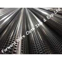 Quality SS304 Stainless Steel Perforated Tube Customized Round Hole Diameter 76.2mm for sale