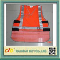 Wholesale Mesh Polyester LED Reflective Safety Vests / Safety Jacket High Visibility Red / Yellow / Green from china suppliers