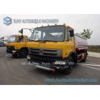 Quality 15000 L 4X2 Refuel Tanker Truck Oil Tank Trailer Mild Steel 190 hp Diesel for sale