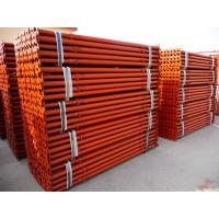 Quality Red painted adjustable scaffolding prop post shore mild steel shoring prop 3.5m for sale