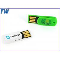 Wholesale Plastic Paper Clip 4GB Pen Drive Key Hole Free Key Chain Attached from china suppliers