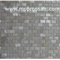 Wholesale White mother of pearl mosaic in brick from china suppliers