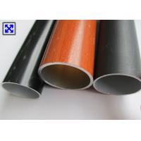 China 6063 - T5 Colorful Round Aluminum Tube Profiles For Telescopic Drying Rack on sale