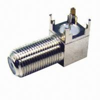 Wholesale RF Connector, Available in MMCX or MCX Types, Suitable for Two-way Radio Accessories from china suppliers