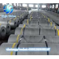 China Hot sale High Shine graphite electrode Made of 90%  needle coke flake for sale