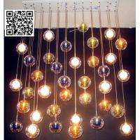 Buy cheap Handblown glass bubble ceiling lamps for sale China supplier from wholesalers