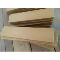 Wholesale Composite Custom WPC Solid Board , 60cm size cut solid deck for DIY garden deck from china suppliers