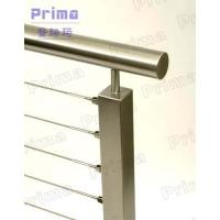 Wholesale Mirror finish stainless steel rod stair railing for public area from china suppliers