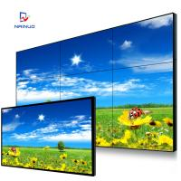 Wholesale Split Screen 3*3 Hd Large Video Wall Displays , Seamless Samsung / Lg Video Wall from china suppliers