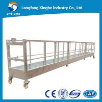 Wholesale zlp800 suspended working platform / electric gondola platform / suspended cradle from china suppliers