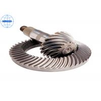 Wholesale 15º Pressure Angle Truck Crown Wheel Gear with Blackened & Nickel Plating from china suppliers