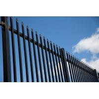 Buy cheap China supplier Australian Standard pressed spear top security wrought iron steel picket fence for USA AU NZ market from wholesalers
