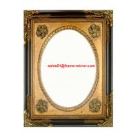 Buy cheap antique gold wooden picture frame from wholesalers