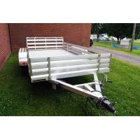 Wholesale Hot Rolled Steel 6x4 Aluminum Box Trailer , Small Aluminum Utility Trailer from china suppliers
