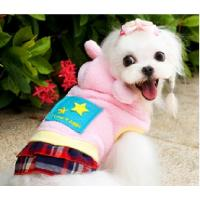 Buy cheap Custom Personalized Dog Clothes Hoodie / Eco-Friendly Cotton PET Apparel Pink Color from wholesalers