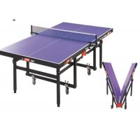 Wholesale Double Rollaway Indoor Table Tennis Table , International Standard Pingpong Table from china suppliers