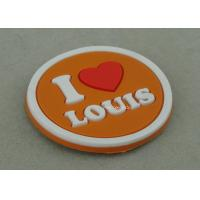 Wholesale Multi Color Customized Plastic Coaster , Soft PVC Promotional Luggage Tag from china suppliers