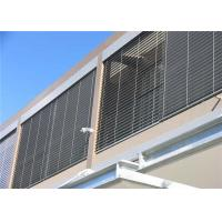 Wholesale External / Interior Aluminium Sun Shades Heat Insulation Aluminum Facade Wall Tile from china suppliers