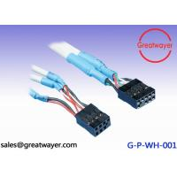 Wholesale Computer Wire Harness UL 2725 28AWG 1P 24AWG 2C Dupont 2.54  9 Pin Connector from china suppliers