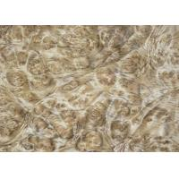 Wholesale 0.5 mm Mappa Burl Wood Veneer , Nardwood Thin Wood Veneer Sheets from china suppliers