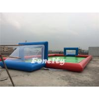 Wholesale Water Proof Customized Inflatable Water Soccer Field For Family Entertainment from china suppliers