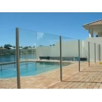 Wholesale Coated Glass 4mm - 19mm Clear Tempered Glass Fence Panels For Swimming Pool And Balcony from china suppliers